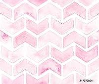 phsfubelシームレスなしわ防止洗濯可能ピンク背景可愛い背景幕ウェディングBackdrop