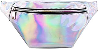 Best holographic fanny pack pink Reviews