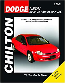 Chilton Dodge and Plymouth Neon 2000-2005 Repair Manual (20601)