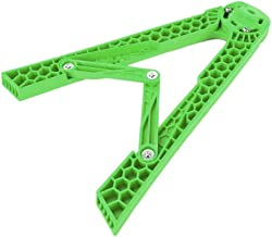 Motorcycle triangle kickstand Adjustable For Dirt Bike Motocross, non-zero, Green, Free Size (Color : Green)
