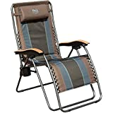 Timber Ridge Zero Gravity Chair Oversized Recliner Padded Folding Patio Lounge Chair 350lbs Capacity...