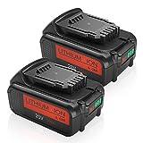 2PACK 6.0Ah DCB205 Battery Replacement for Dewalt 20V Battery Max XR Lithium ion DCB204 DCB206 DCB205-2 DCB200 DCB180  DCD985B DCD771C2 DCS355D1 DCD790B