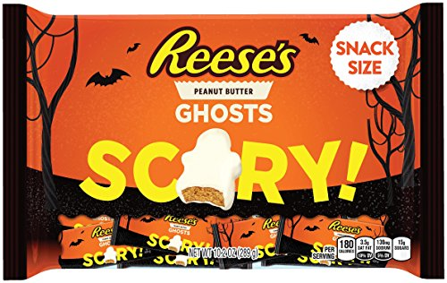 REESE'S Halloween Snack Size Ghosts (10.2-Ounce Bag)