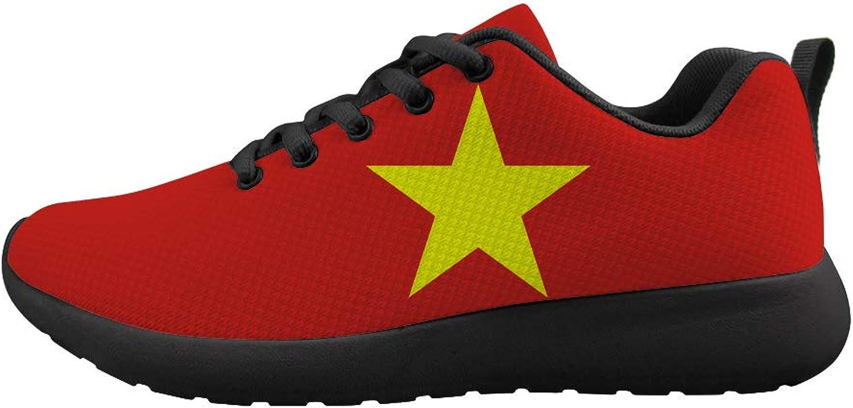 Owaheson Cushioning Sneaker Trail Running shoes Mens Womens Vietnam Flag