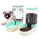 hipidog automatic pet feeder small&medium pets automatic food feeder and waterer set 3.8l, travel