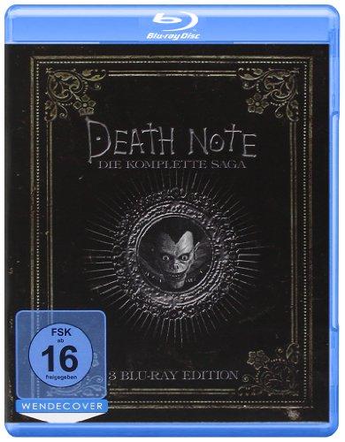 Death Note - Trilogy  (3 BRs),Eine Filmreihe [Blu-ray]