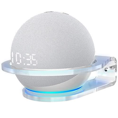 Cozycase Soporte para Dot 4th Gen, Homepod Mini, Accesorios de Estante de acrílico para Cocina, Dormitorio, baño, 1-Pack