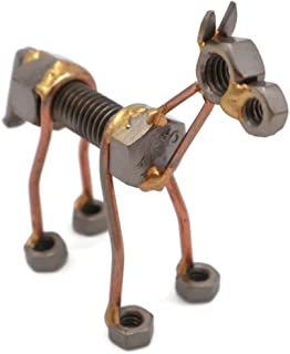 Horse Collectible Handmade Metal Art Figurine, Desk Accessories, Trophy, Boss Gift, Office Décor, Farm Animal