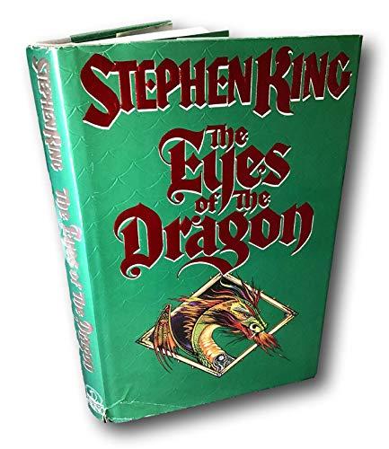 Rare THE EYES OF THE DRAGON -Stephen King 1st 1987 Vking HCDJ