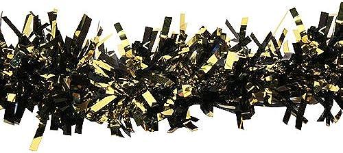 Gold und SchwarzMetallic twistees Girlande