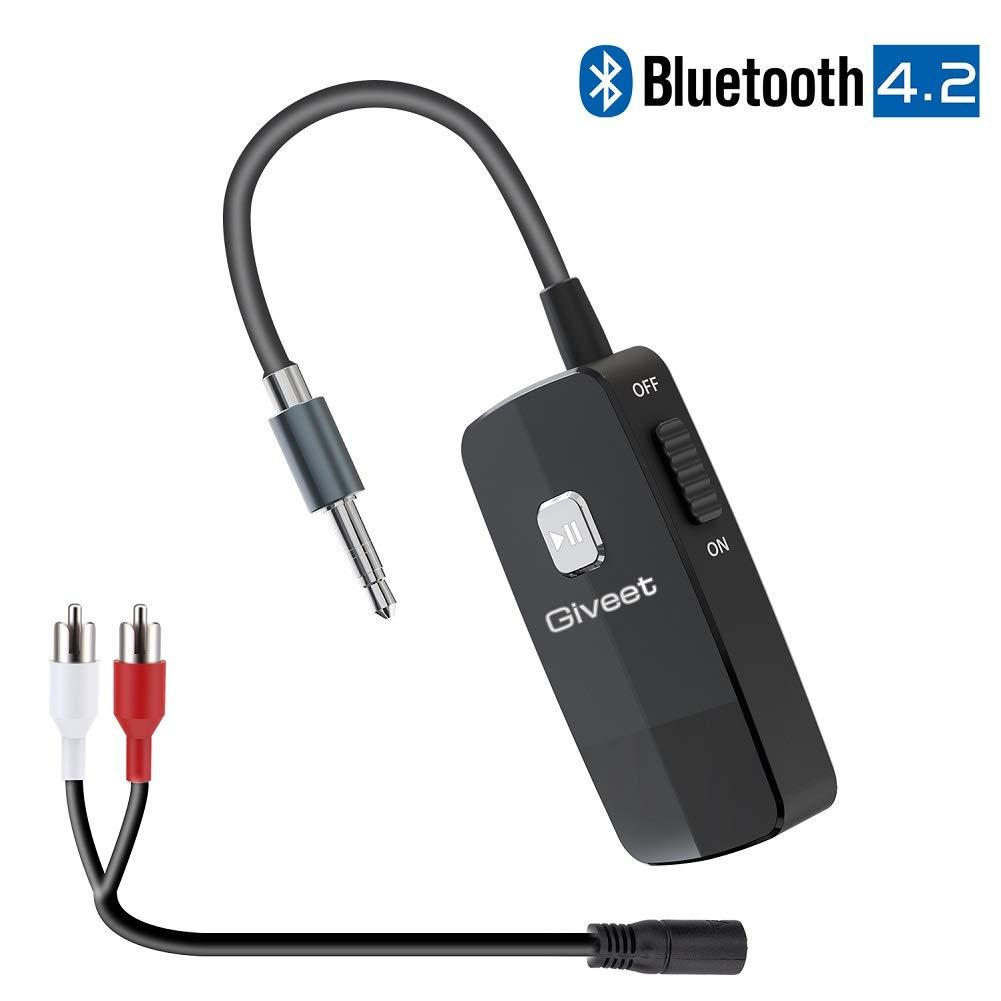 Giveet Bluetooth Receiver Streaming Headphones
