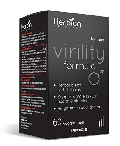 Herbion Naturals Virility Formula with Tribulus Power  Testosterone Booster, Enhances Energy, Size, Stimulates Fat Loss