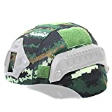 Outdoor Sports Airsoft Gear Helmet Accessory Tactical Camouflage Mich 2000 Fast Helmet Cover - Tigerstripe