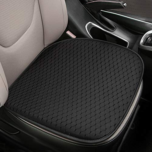 Tsumbay Auto Sitzauflagen, EIS-Seiden-Auto Sitzkissen mit Mesh-Luftloch, Memory Foam Autositzkissen für Hüfte, Auto Sitzbezügefür Autositz Bürostuhl