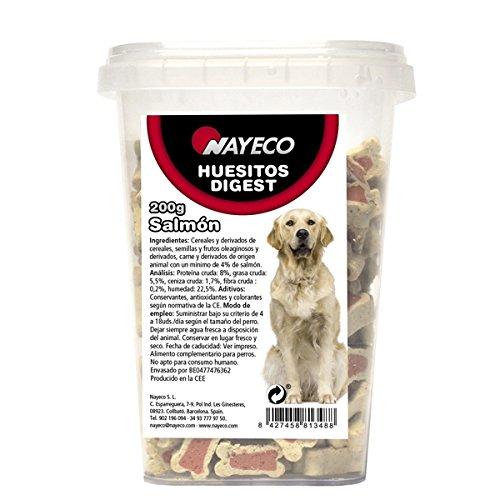 Nayeco - Snack para Perros huesitos Digest salmón 200 gr 🔥
