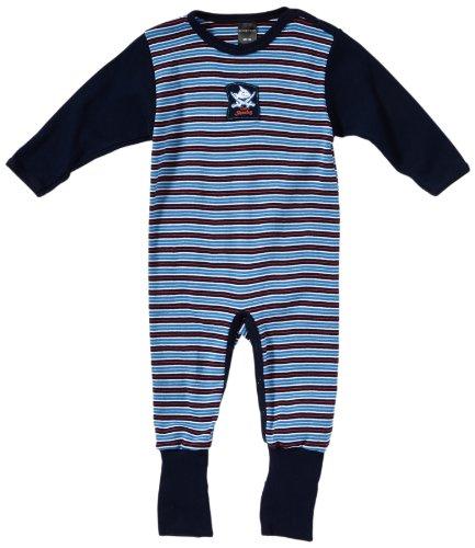 Schiesser Baby-jongenspak met voet tweedelige pyjama