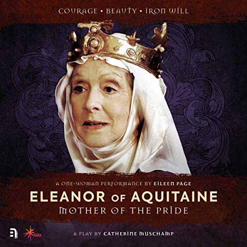 Eleanor of Aquitaine audiobook cover art