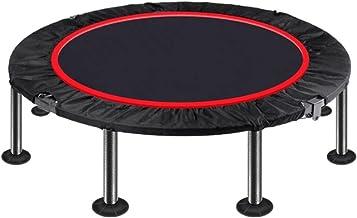 "40""Opvouwbare fitness trampoline, mini-fitness rebounder, oefentrampoline for volwassenen Indoor/Garden Workout Max Laad 3..."