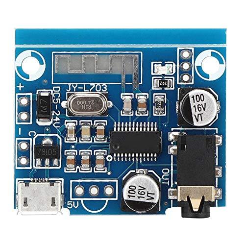 Fafeicy Módulo receptor Bluetooth 5.0, Módulo receptor de audio, placa decodificadora de MP3 Módulo amplificador de audio de altavoz de coche DIY