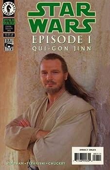 Comic Star Wars: Episode I Qui-Gon Jinn #1 Special Cover Book