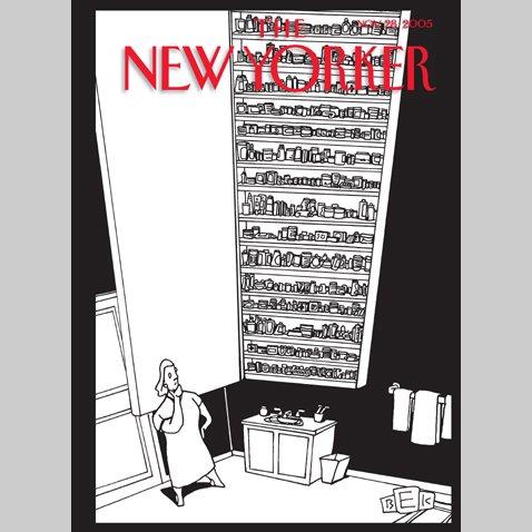 The New Yorker (Nov. 28, 2005) audiobook cover art