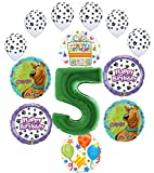 Scooby Doo 5th Birthday Party Supplies Balloon Bouquet Decorations -...