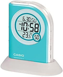 Casio Pq75-2df Multi Function Digital Thermometer Table Top Alarm Clock