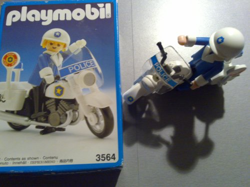 playmobil Polizei Motorrad 3564