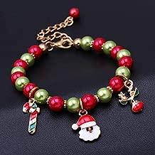 Oteshina Christmas Snowflake Santa Claus Pendant Beads Gift Simple Series Of Bracelets - Ornaments Cake Xmas Ornament Year Decor Christmas Ornament Santa Xmas Christmas Chr