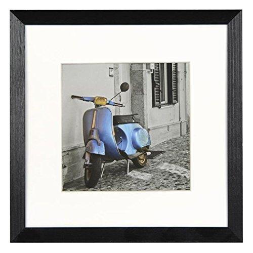 Henzo Umbria 20x20 Frame schwarz Bilderrahmen, Holz, 20 x 20 x 1.4 cm