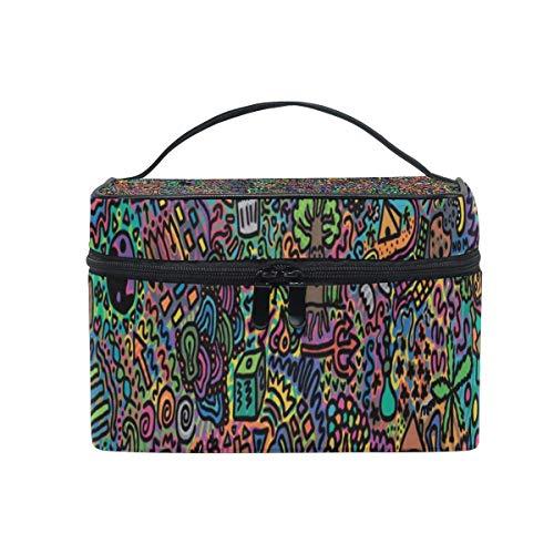 Sac de maquillage Sac cosmétique Grand sac de toilette portable pour les femmes/filles