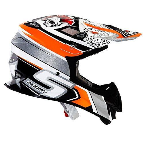 Suomy Mr Jump Lazy Boy MX Helm orange klein MX Motocross Offroad