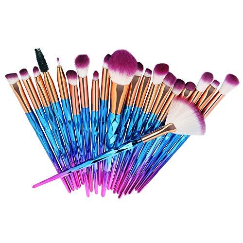 Pinceau de maquillage 2 PCS Fibre Brosse À Sourcils Correcteur Maquillage Brosse Sourcils Eyeliner Beauté Essentials Maquillage Brosse Ensemble Maquillage Brosse Outil Noir Brun 2 pcs