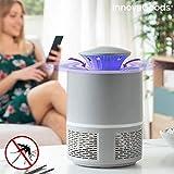 InnovaGoods Lámpara Antimosquitos por Succión KL Twist, Blanco