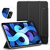 ESR Magnetic Case for iPad Air 4 2020 10.9 Inch [Convenient Magnetic Attachment] [Trifold Smart Case] [Auto Sleep/Wake Cover] Rebound Series, Black