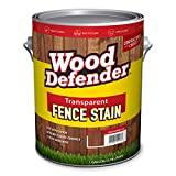 Wood Defender - Transparent Fence Stain- Oxford Brown- 1 Gallon