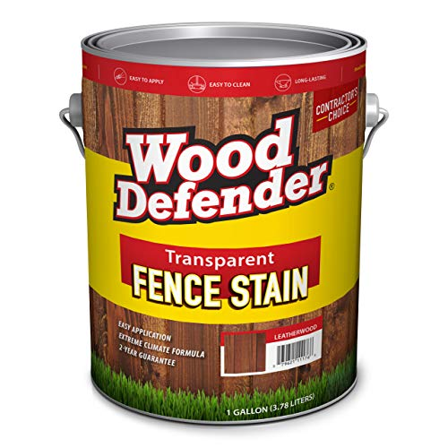 Wood Defender Transparent Fence Stain CEDAR TONE gallon