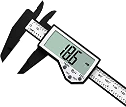IP54 Waterproof Splash Plastic Electronic Digital Display Vernier Caliper 0-150mm / 6 inch Measurement Tool