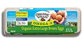 Organic Valley Omega-3 Organic Extra Large Brown Eggs, 27 oz. (1 Dozen)