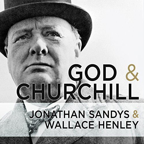 God and Churchill audiobook cover art