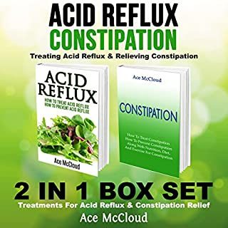 Acid Reflux & Constipation: Treating Acid Reflux & Relieving Constipation audiobook cover art