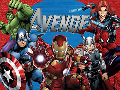 Avengers Background | Marvel Backdrop | Superhero | Birthday | Boys | Party Supplies | Kids | Banner | Photography Decorations