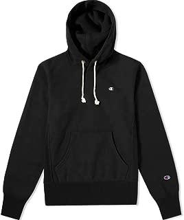 Europe Reverse Weave Men's Classic Logo Hoodie - Black