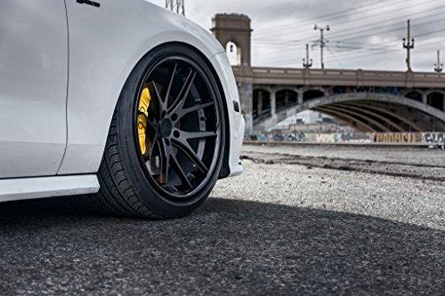 "22"" Inch Ferrada FR2 Matte Black/Gloss Black Lip Concave Wheels Rims   Set of 4   Fits MERCEDES BENZ W222 S400 S500 S550 S600 S63 S65"
