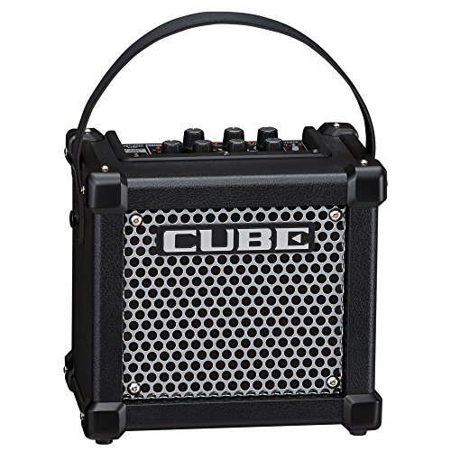 Roland MICRO CUBE GX Portable 3-Watt Guitar Amplifier, Black
