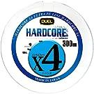 DUEL ( デュエル ) PEライン 釣り糸 HARDCORE X4 【 ライン 釣りライン 釣具 高強度 高感度 】