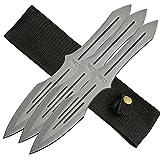 SZCO Supplies 3 Piece Throwing Knife Set