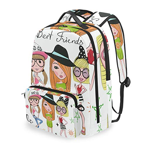 Laptop Backpack, 2 in 1 Multi-Functional Convertible Messenger Bag Best Friends Backpack Fits for 15 inch Computer/Notebook/Tablet, Sports Bag for Men Women Student