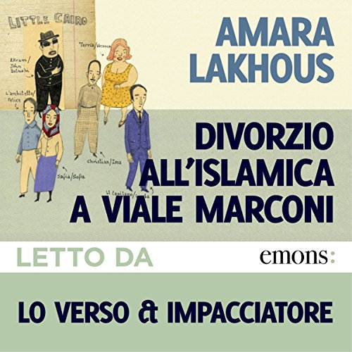 Divorzio all'islamica a Viale Marconi audiobook cover art