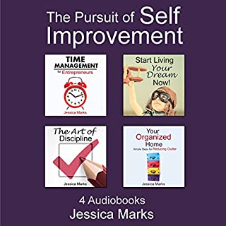 The Pursuit of Self Improvement Bundle Set 1: Books 1-4                   By:                                                                                                                                 Jessica Marks                               Narrated by:                                                                                                                                 Gwendolyn Druyor                      Length: 5 hrs and 39 mins     1 rating     Overall 5.0